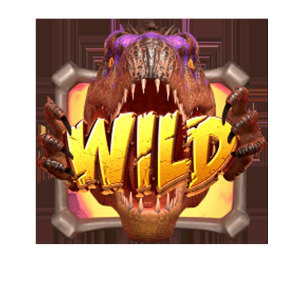 wild symbol Jurassic Kingdom