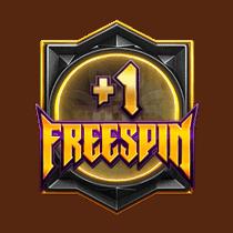 สัญลักษณ์ FreeSpin +1