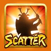สัญลักษณ์ Scatter Ninja VS Samurai