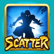 สัญลักษณ์Scatter Ninja VS Samurai