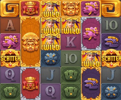 play line-Treasures of Aztec