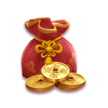 red gold bag-Fortune Ox